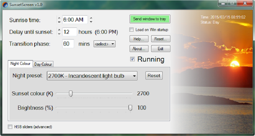 Software pencegah blue light by teknodaim 2