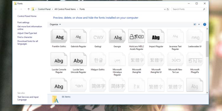 Cara mengatasi font browser yang berubah by teknodaim