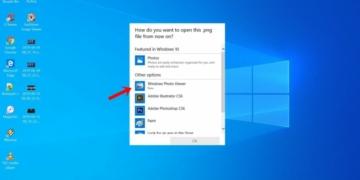 Cara membuat manual aplikasi windows photo viewer di windows 10