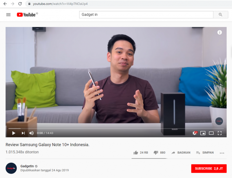 Cara download video di youtube dan cara unduh video youtube by teknodaim