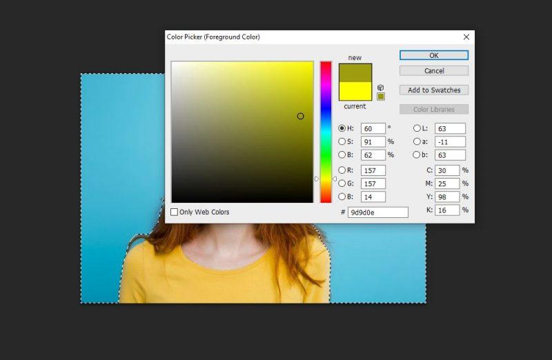 Cara ganti background foto di photoshop dan cara edit background foto di photoshop by teknodaim