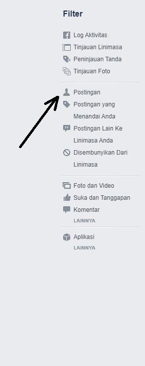 Cara menghapus semua postingan di facebook dan cara membersihkan profil fb by teknodaim 4