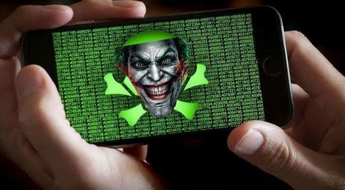 Aplikasi virus joker by teknodaim