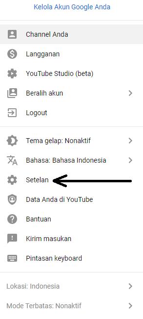 Ini cara verifikasi akun youtube by teknodaim 2