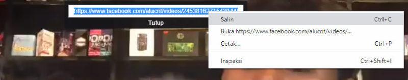 Cara download video di facebook by teknodaim