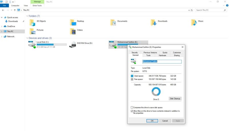 Cara membuat partisi storage by teknodaim