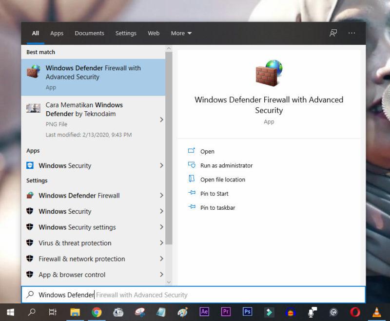Cara mematikan windows defender by teknodaim