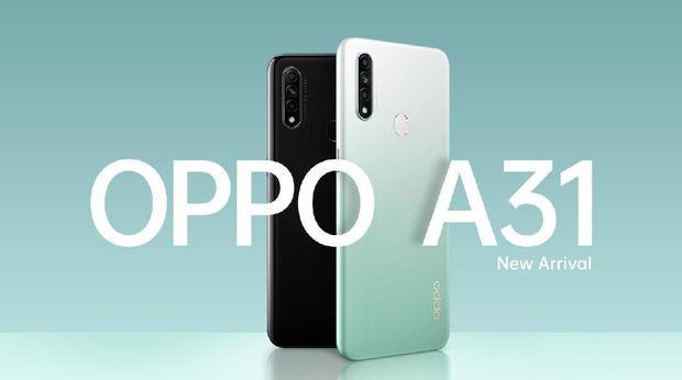 Spesifikasi oppo a31 by teknodaim