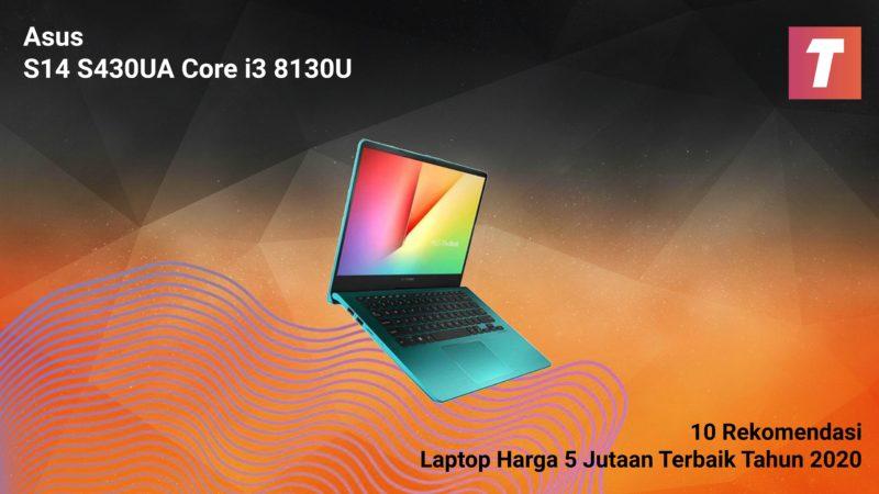 Asus S14 S430ua Core I3 8130u
