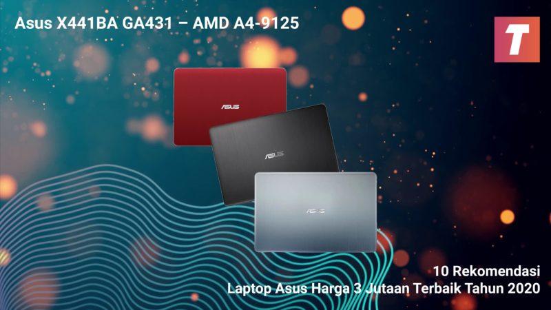 Asus X441ba Ga431 – Amd A4 9125
