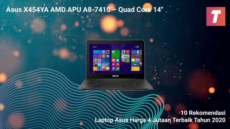 Asus X454ya Amd Apu A8 7410 – Quad Core 14″