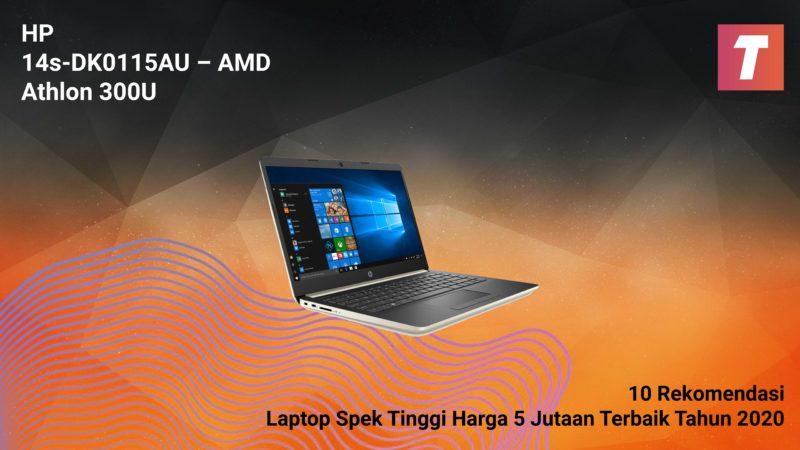Hp 14s Dk0115au – Amd Athlon 300u