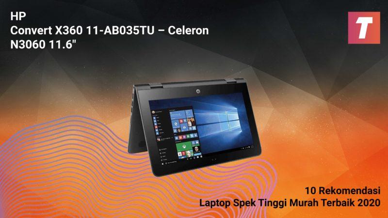Hp Convert X360 11 Ab035tu – Celeron N3060 11.6″