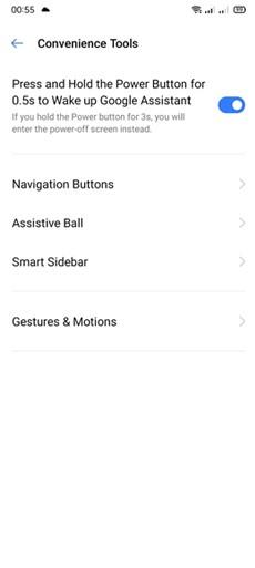 Cara Screenshot Di Realme C15 Dengan Gesture (2)