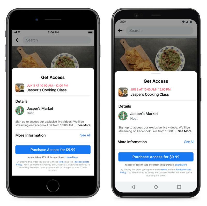 Apple Memblokir Update Fitur Baru Dari Facebook