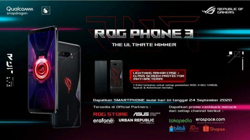 Banner Promo Asus Rog Phone 3