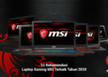 Laptop Gaming Msi Terbaik