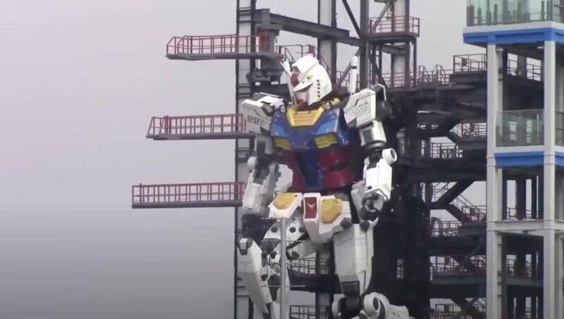 Robot Gundam Raksasa Yang Bisa Bergerak By Teknodaim