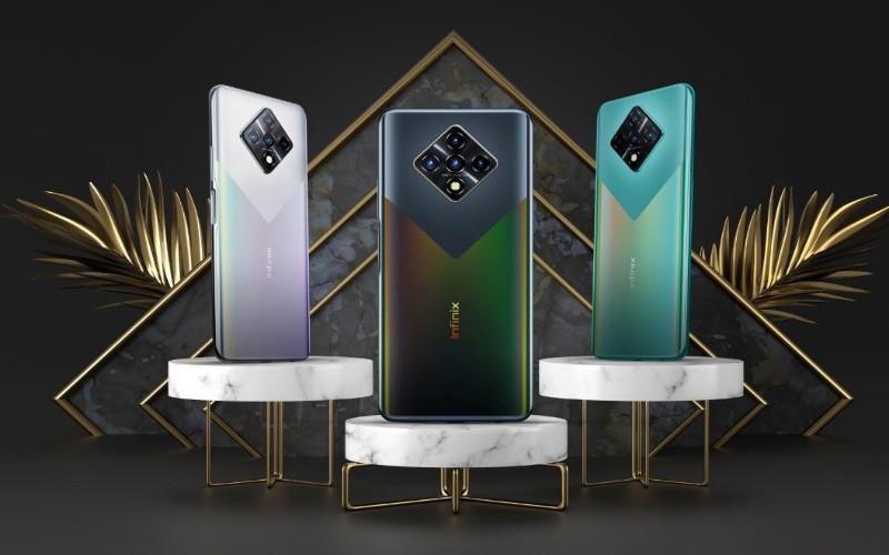 Varian Warna Smartphone Infinix Zero 8