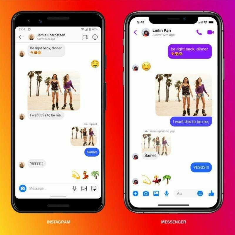 Dm Instagram Dan Messenger Resmi Digabungkan By Teknodaim