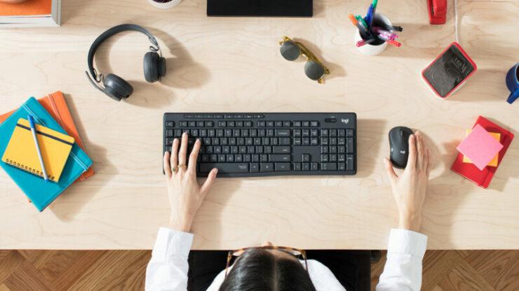 Keyboard Dan Mouse Logitech