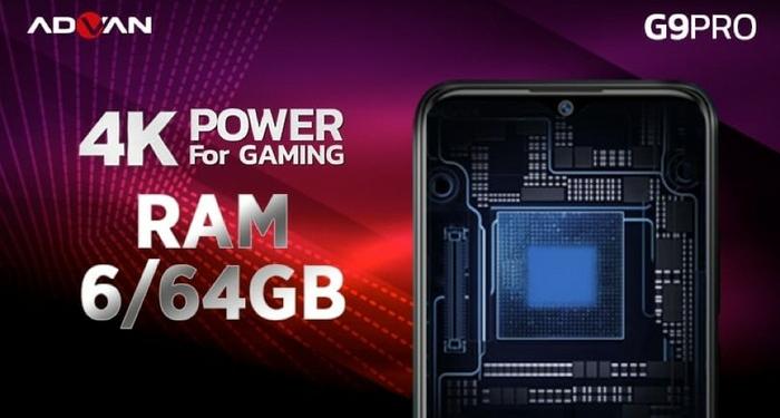 Advan G9 Pro 4K Power For Gaming