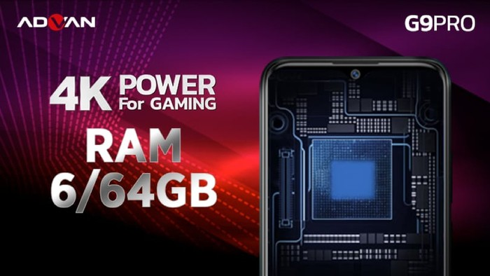 Advan G9 Pro 4K Power For Gaming