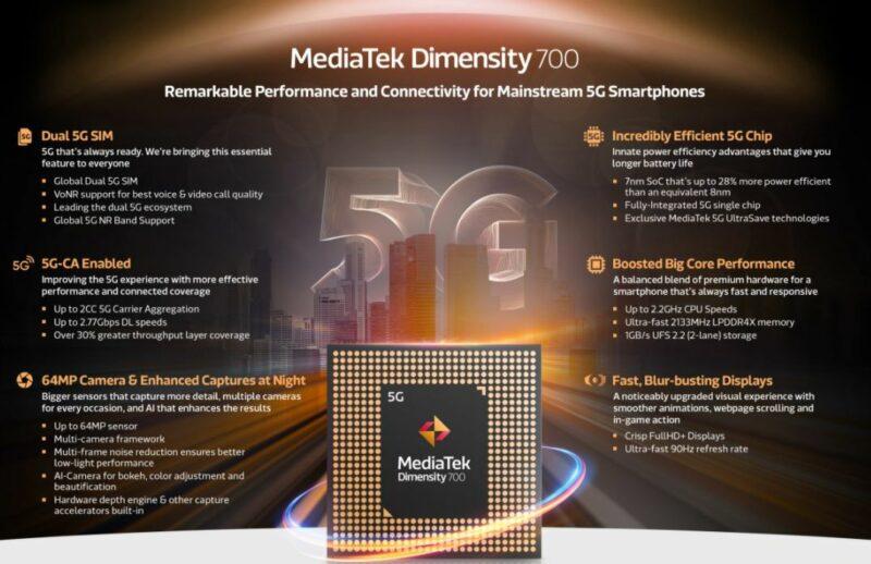 Chipset Terbaru Mediatek Dimensity 700 1