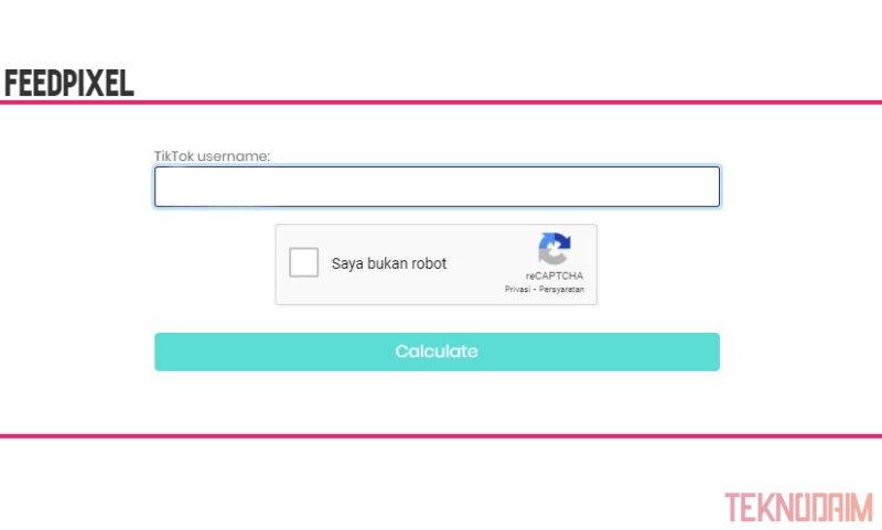 Situs Untuk Hitung Penghasilan TikTok, FeedPixel