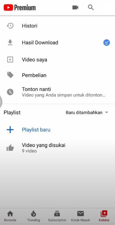 Foto Petunjuk Cara Berhenti Berlangganan Youtube Premium 2