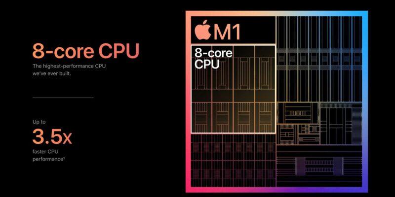 Hasil Benchmark Chipset Apple M1 Tembus Angka Sejuta