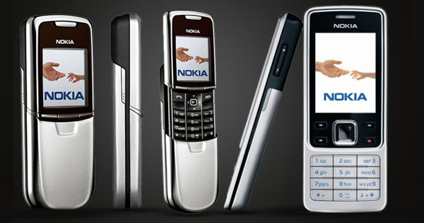 Ilustrasi Nokia 8000 Dan 6300 Versi 2020