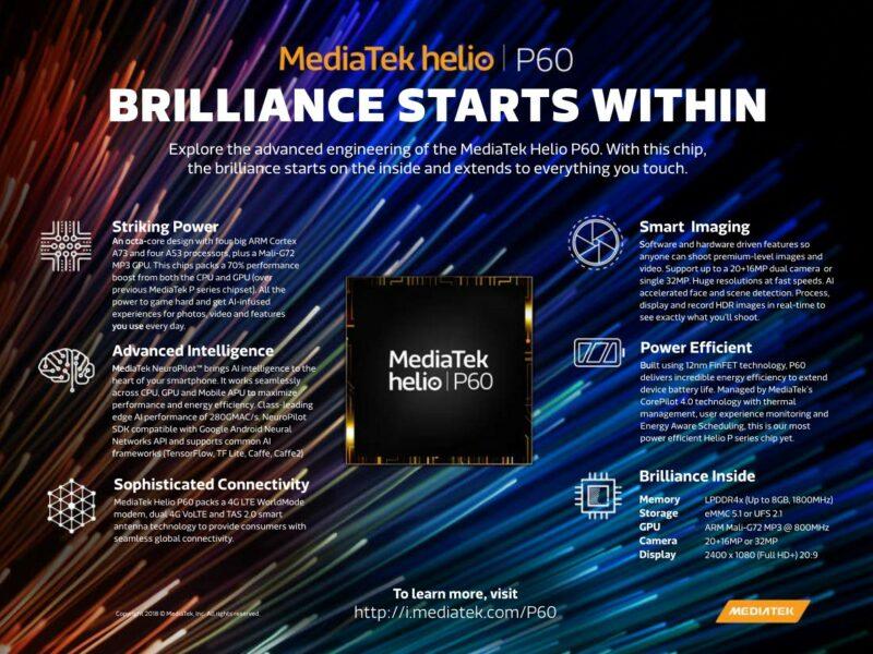 Kelebihan Dan Kekurangan Mediatek Helio P60