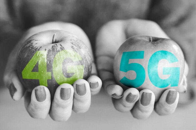 Perbandingan Antara 4G dan 5G