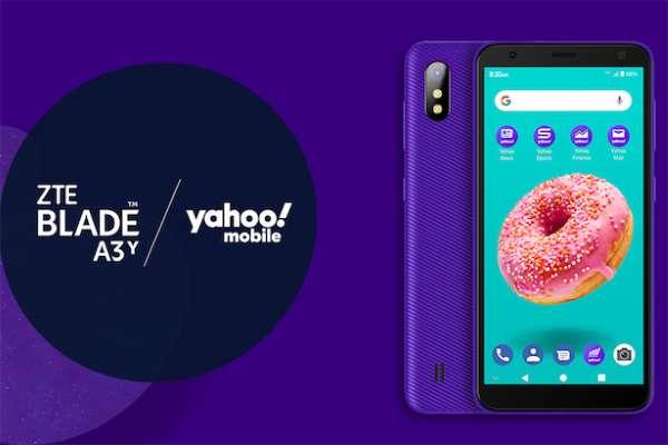Ponsel Smartphone Pertama Yahoo 3