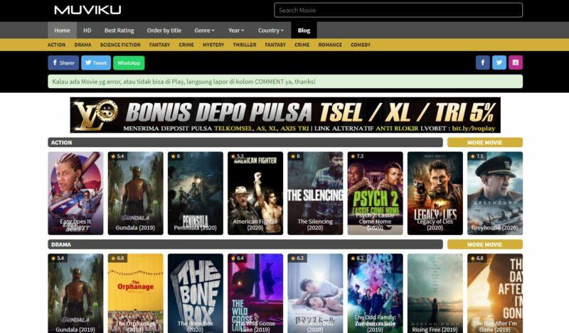 Situs Download Film Sub Indonesia Terbaik 2020 1
