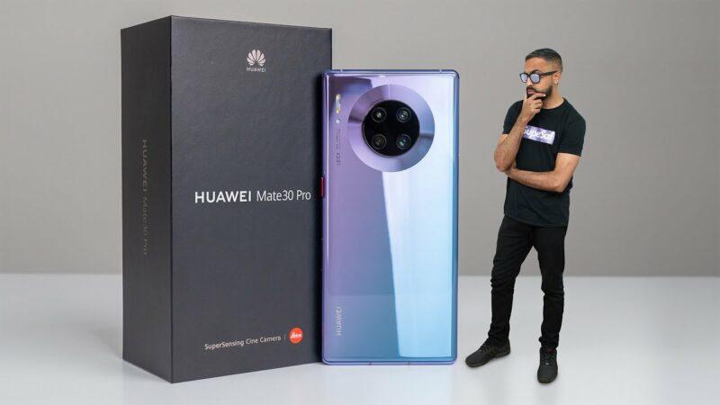 Smartphone 5G Terbaik, Huawei Mate 30 Pro 5G
