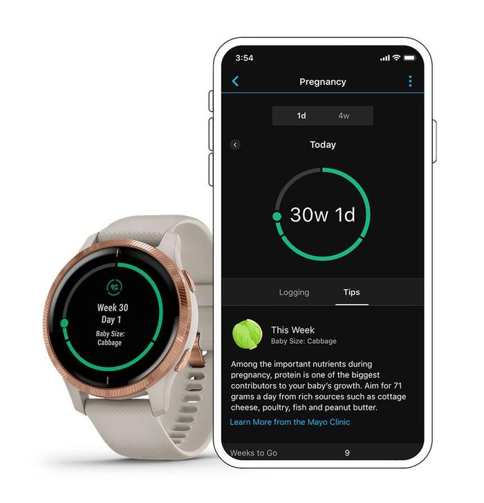 Smartwatch Garmin Yang Memiliki Fitur Pregnancy Tracking
