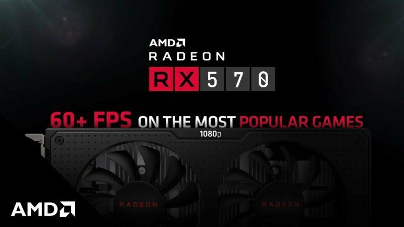 Rekomendasi VGA Terbaik Dibawah 3 Jutaan, AMD RX 570 Series