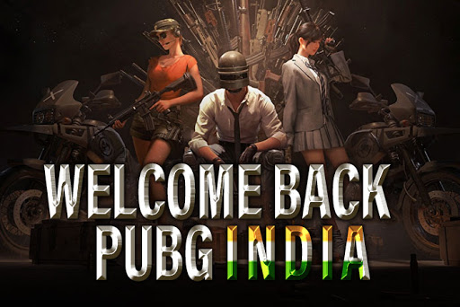 Welcome Back PUBG India