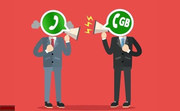 Whatsapp Original vs Whatsapp GB