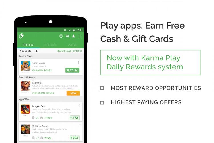 AppKarma Rewards & Gift Card