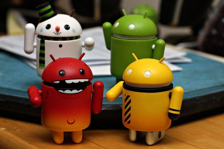 Ilustrasi Android Virus