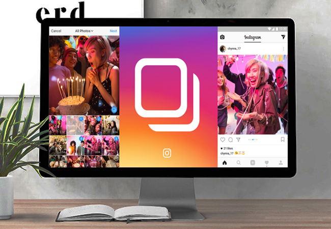 Ilustrasi Instagram PC Sekaligus Cara Download Video Instagram di PC