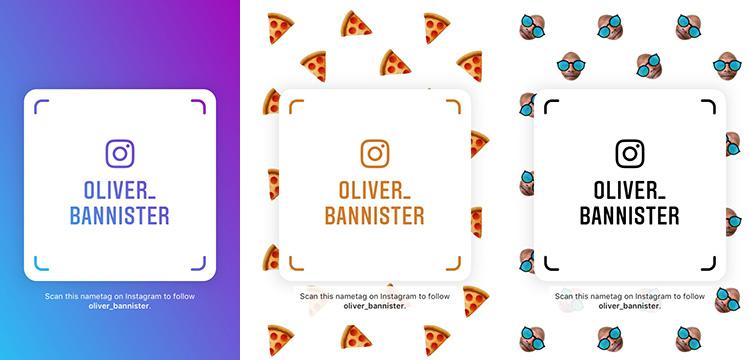 Cara Membuat Nametag Instagram