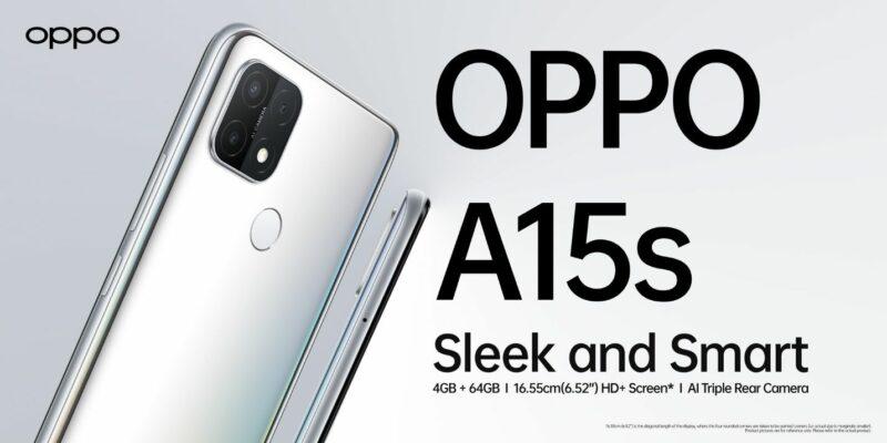 Spesifikasi Oppo A15s 6