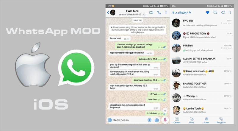 WhatsApp MOD iOS Terbaik 2020