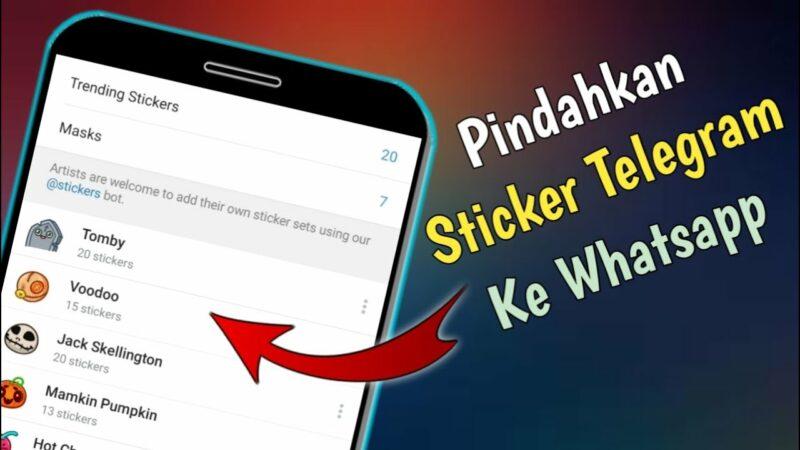 Begini 2 Cara Memindahkan Stiker Telegram ke WhatsApp!