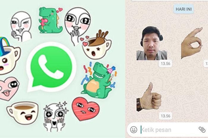 Begini 2 Cara Download Stiker Whatsapp