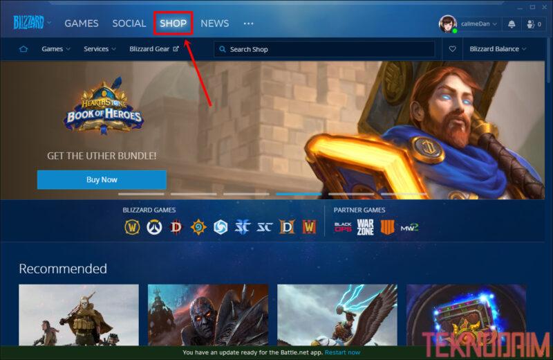 Cara Download Game di Laptop, Cari Game Blizzard Battle Yang Ingin Kamu Download